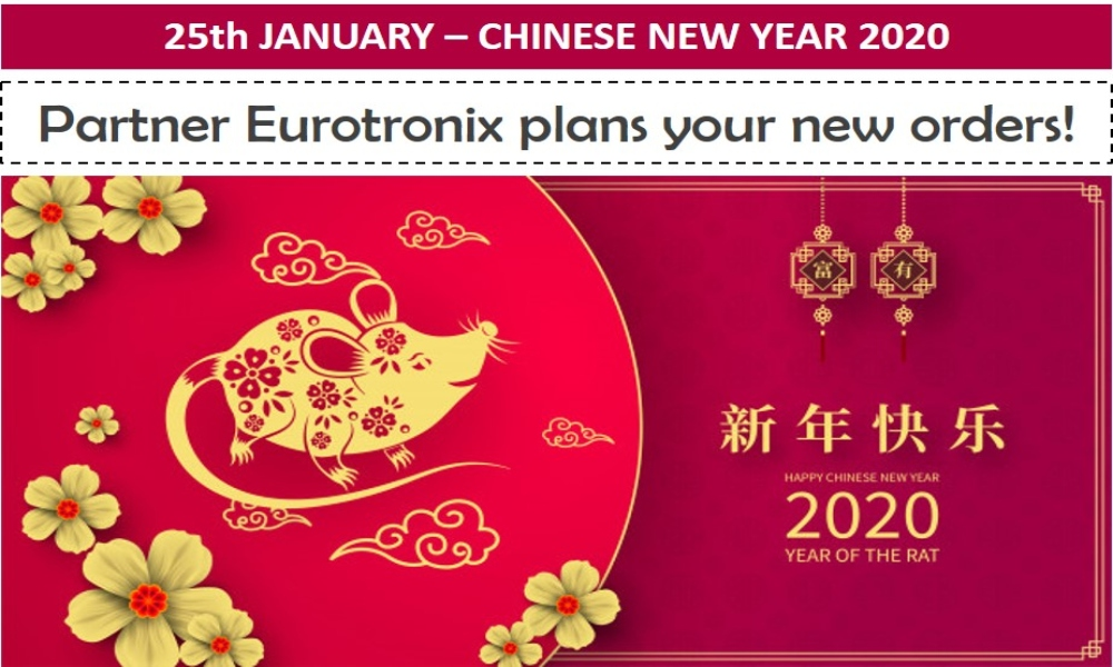 Plan your next orders - Chinese New Year