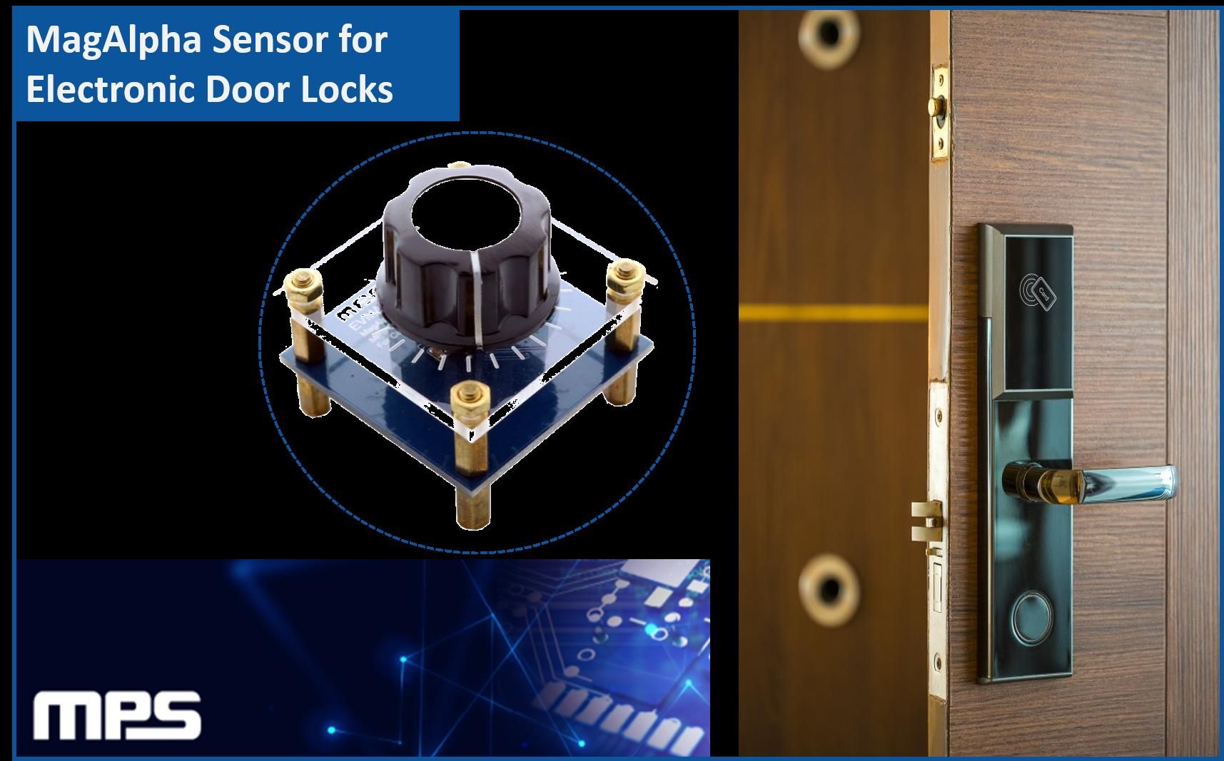 Sensor Magnético MPS - Aplicación: Puerta Electrónica