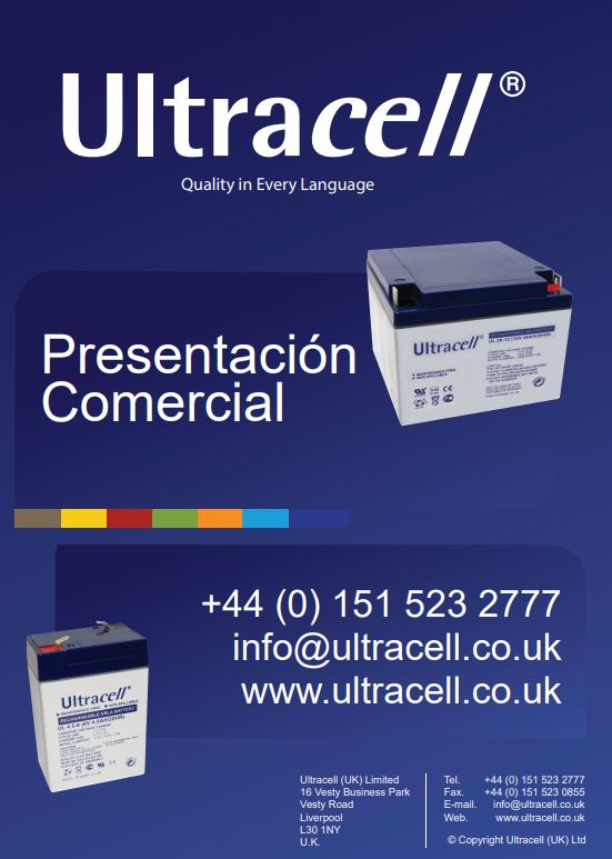 Ultracell Catálogo