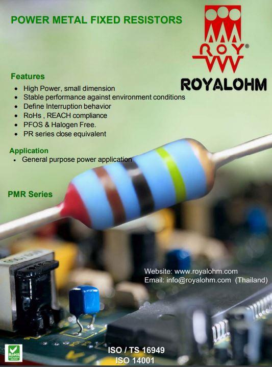 Uniohm Royal Electr. Catálogo