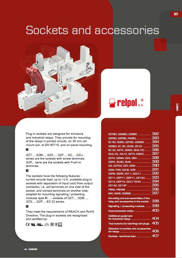 Relpol Catálogo