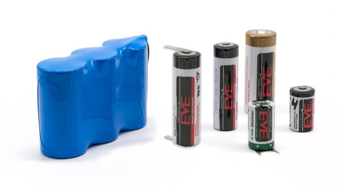 Baterías Litio Primario
