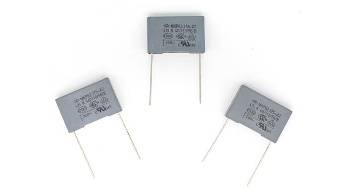 Condensadores EMC (X2, Y1, Y2)