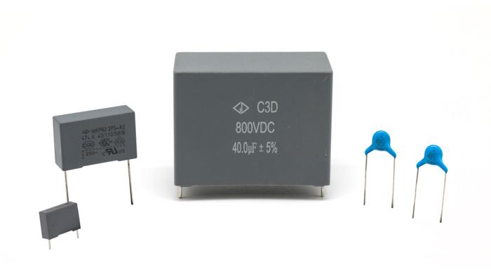 Condensadores de Film MKP
