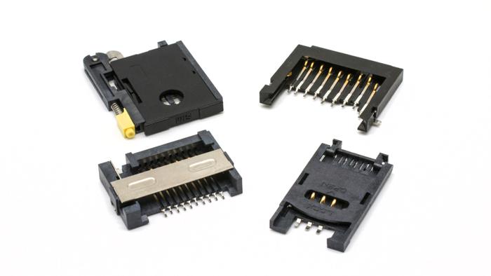 Conectores para tarjeta