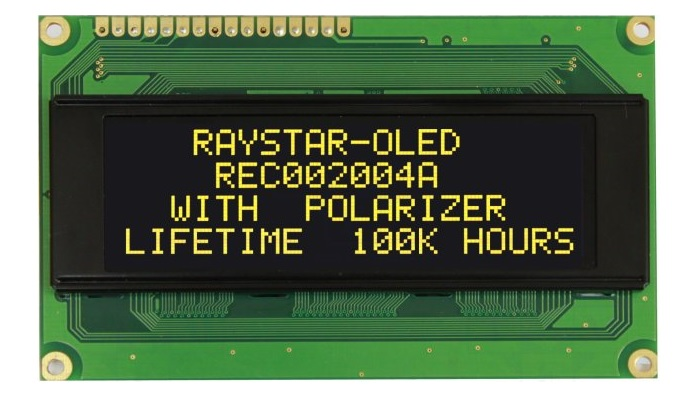 Displays OLED Caracter