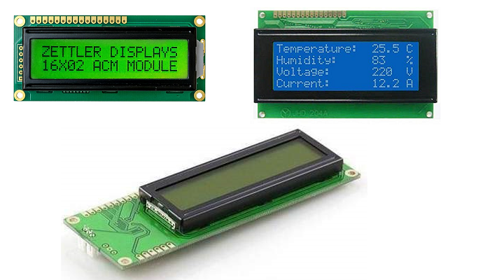Displays LCD Caracter